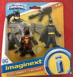 Imaginext DC Super Friends - Firefly and Batman *BRAND NEW*