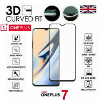 For OnePlus 7 (ONLY) Full Cover 3D Curved Tempered Glass 9H Screen Protector