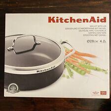 KitchenAid Servier- und Schmorpfanne mit Deckel Ø 28 cm 4.2 Liter ☆ antihaft