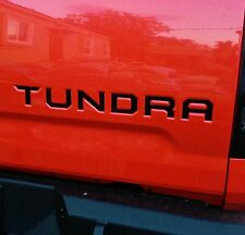 2014-2018 Toyota Tundra Premium Vinyl Decal Tailgate Letters Inserts