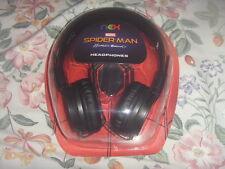Marvel Spider-man 3.5 mm Headphones compatible all iphones,ipad,ipod,tablets-New