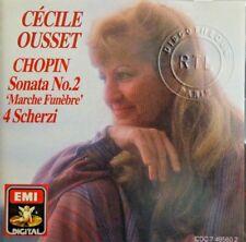 """Cécile Ousset, Frédéric Chopin – Sonata No.2 """"Marche Funebre"""" [ CD ALBUM ]"""