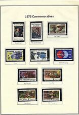 U.S. 1975 Commemorative Year Set, 28 stamps COMPLETE, all mNH Fine