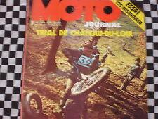 revue MOTO-JOURNAL N°95 1972 / HUSQVARNA 125 CROSS / TRIAL / HELL'S ANGELS