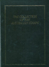1987 Australia Post Leather Year Book complete with unmounted mint stamps