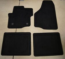 Ford F150 Factory OEM Black 4 Piece Carpet Floor Mats FREE SHIPPING