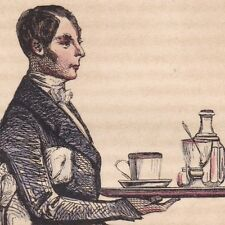 Garçon de Café Serveur Bar Estaminet Bistrot
