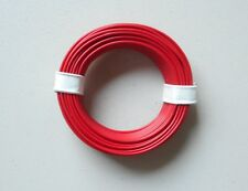 Red 22-Gauge Single Strand Copper Plastic Coated Wire 32' HOBBY ACCESSORY