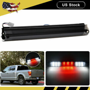 3RD Third Brake Light Full Rear LED Cargo Smoked Lamp For 97-03 Ford F-150 F-250