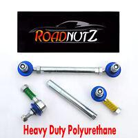 RoadNutz Front Adj Drop Links -50mm for VW Polo i FSi TD TDi D SDi +GTi 2001-On