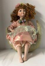 Geppeddo Porcelain 14in Doll Mariah Fairy On The Moon