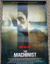 The Machinist RARE promo 11 x 17 poster Christian Bale AUTHENTIC