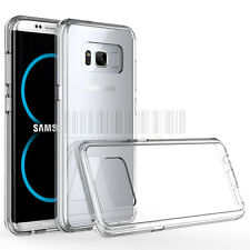 Slim Hybrid Crystal Clear Case Shockproof Bumper Cover For Samsung Galaxy S8