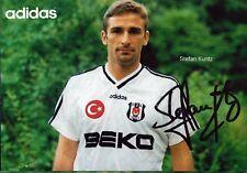 Stefan Kuntz-Beşiktaş Istanbul-Football original autographe (e-8381