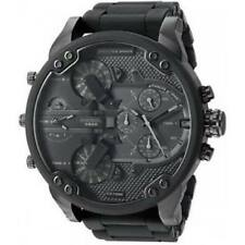 NEW DIESEL DZ7396 Watch Daddy Chrono OverSized unisex S Steel Strap MEN Women!