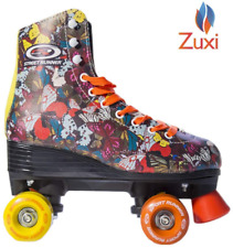 Zuxi Quad Roller Skates for Girls/Kid's Toddler with High Top Shoe Style for |