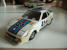"Mebetoys Porsche 924 ""Martini ravcing""in White on 1:24"