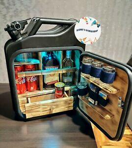 Jerry Can Mini Bar | Canister Mini Bar | Jerry Can Man's Gift (15)