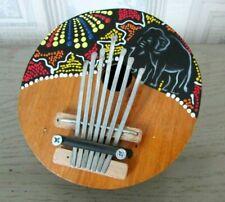 Traditionnel de noix de coco Afrique Kalimba 7 clés accordables Pouce piano