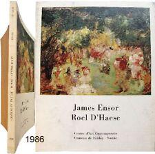 Catalogue James Ensor Roel d'Haese 1986 château de Tanlay dessins gravures