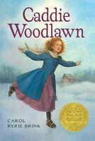 Caddie Woodlawn by Carol Ryrie Brink a paperback book FREE SHIPPING Grade 3 - 7