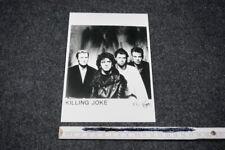 KILLING JOKE vintage photo press kit folder Pressefoto 1980's POST-PUNK