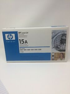 HP C7115A (15A) Black Toner Cartridge Genuine OEM Original