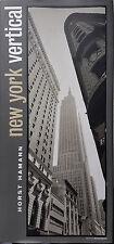 Horst Hamann, New York vertical XXL Panorama Photographie NY Großformat Bildband