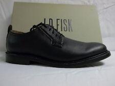 JD Fisk Size 9 M Chandlar Black Leather Oxfords New Mens Shoes