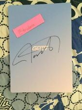 GOT7 Flight Log Departure Album Blue Signed By Jackson Authentic Mwave Serenity