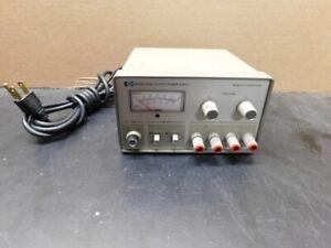 HP Model 6234A Dual Output DC Power Supply -- Hewlett Packard -- 0-25V .2A