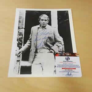 Perry Como American Singer TV Actor Original Autographed Photograph COA