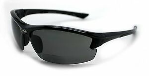 Sport Fishing Motorcycle Golfing Polarized Sunglasses with Readers Bifocal Style