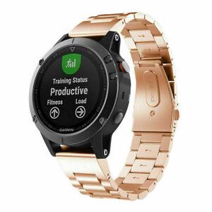 Men / Women's Watchband 26mm Bracelet Stainless Strap Wrist For Garmin Watch