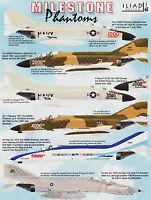 id48022a/ Iliad Design - Decals - F-4 Phantom II - Milestone Phantoms - 1/48