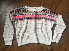 Urban Outfitters Staring at Stars Cotton Blend Knit Boxy Jumper S Small 8 10