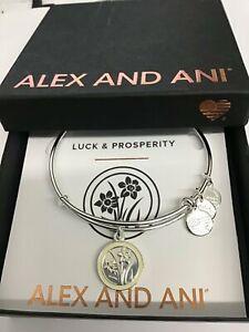 Alex and Ani Narcissus Flower Bangle Bracelet