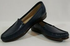 SAS Tripad Simplify Comfort Womens Navy Blue Loafer Flat Shoes Slip-ons Sz 9 S
