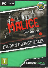 MALICE: TWO SISTERS Hidden Object PC Game NEW