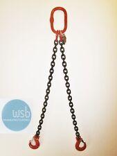 2mtr x 2 leg 10mm Lifting Chain Sling 4.25 tonne