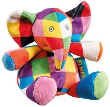 Rainbow Designs Elmer El Elefante Suave Juguete Sonajero Bebé Juguetes Actividades BN