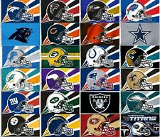 "Licensed NFL Football LARGE FLAG BANNER 3'X5' -Indoor/Outdoor- 36""X60"""