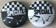 More details for vintage the specials pin button badges ska two 2 tone 1980s original rare