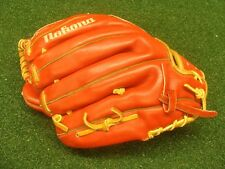 """Nokona used Baseball Glove Right-Hand Thrower 11.5"""" Infield - RED COLOR read all"""