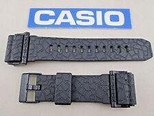 Genuine Casio G-Shock GD-400HUF black resin watch band strap