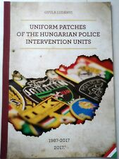 Book patch Hungary Hungarian police
