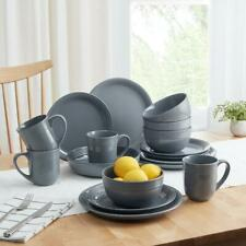 16-Piece Dinnerware Set Plates Bowls Mugs Microwave Safe Home Dining Kitchen