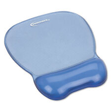 Innovera Gel Mouse Pad w/Wrist Rest Nonskid Base 8-1/4 x 9-5/8 Blue 51430