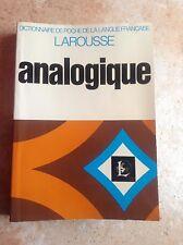 LAROUSSE ANALOGIQUE 1971 - DICTIONNAIRE DE POCHE DE LA LANGUE FRANÇAISE