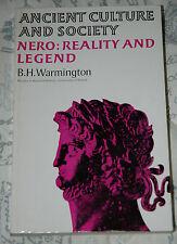 Nero: Reality and Legend - B. H. Warmington p/b 1981 Chatto & Windus